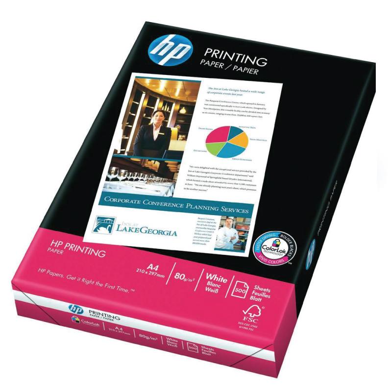 Papīrs HP PRINTING A4  80g/m2, 500 loksnes/iepakojumā