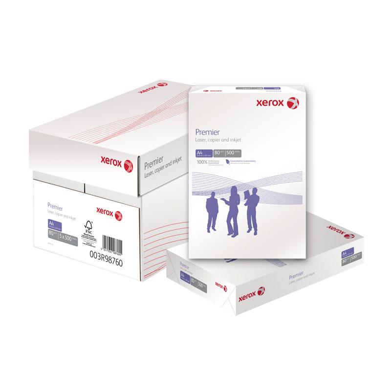 Papīrs XEROX PREMIER A4 80g/m2, 500 loksnes/iepakojumā