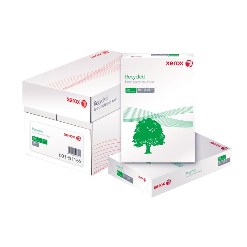 Papīrs XEROX Recycled A4 80g/m2, 500 loksnes/iepakojumā