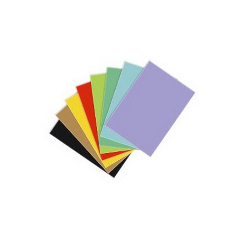 Krāsains papīrs KASKAD, 64x90 cm, 225gr/m2, gaiši pelēka krāsa, 1 loksne (Nr.93)