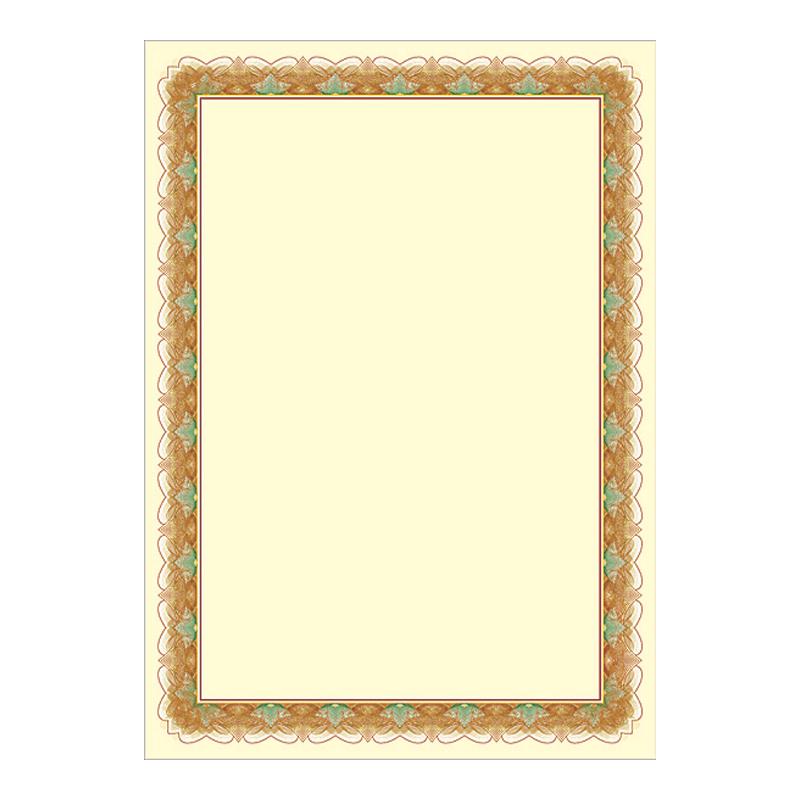 Dizaina papīrs ZLOTO A4, 25 loksnes iepakojumā, 170g/m2