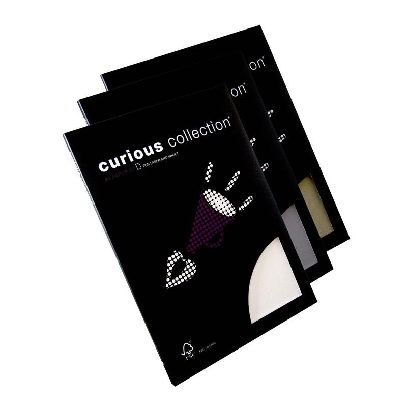 Dizaina papīrs CURIOUS Metallic Galvanised A4 formāts 120g/m2, 50 loksnes/pakā