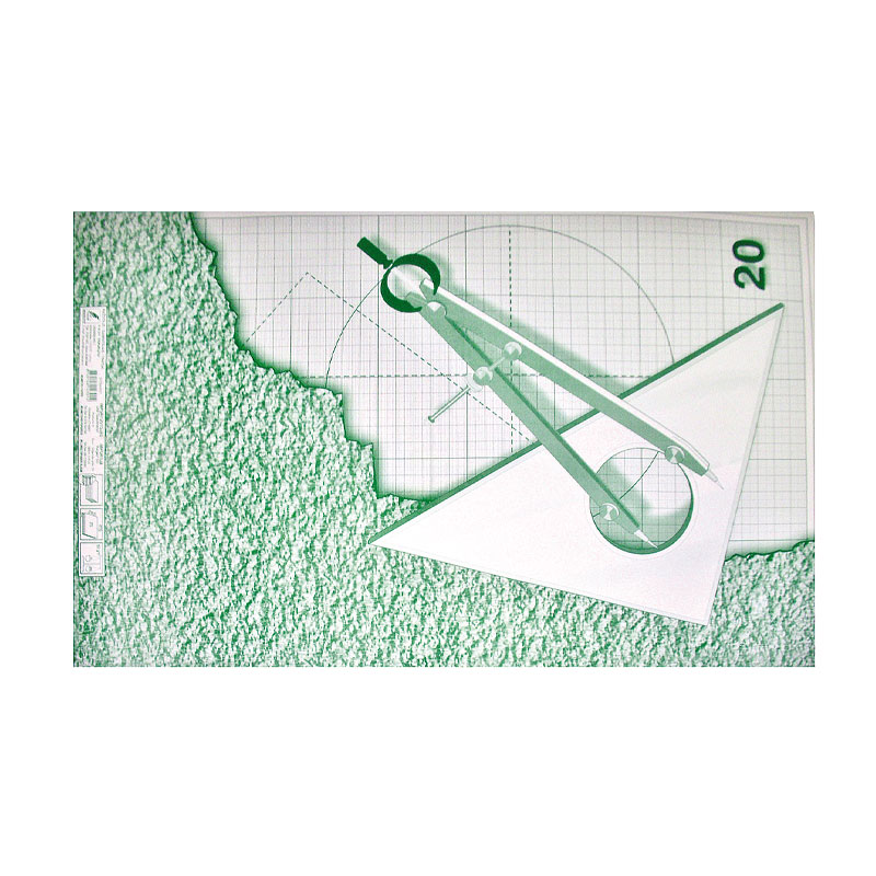 Albums milimetru papīra Kreska A4, 20 lapas, 80g