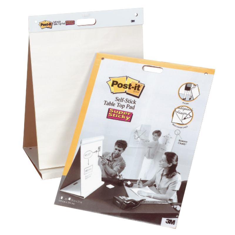 Sanāksmju bloks POST-IT ar izmēru 508x584mm, galda, 20 lapas