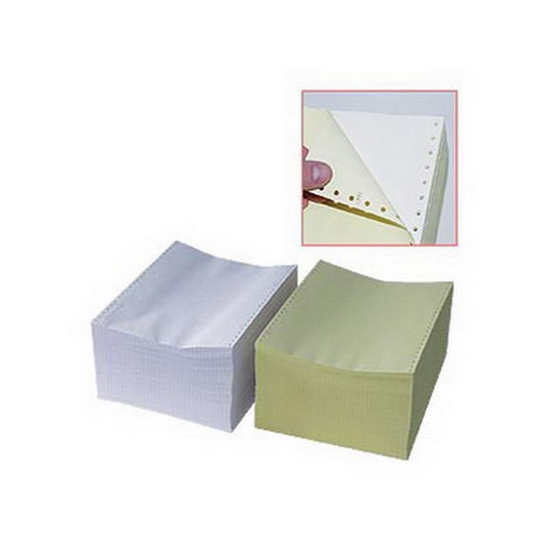 Printera papīrs TECHNOINFORM četrslāņu, platums 240mm, 450 lapas krās., ar perf.