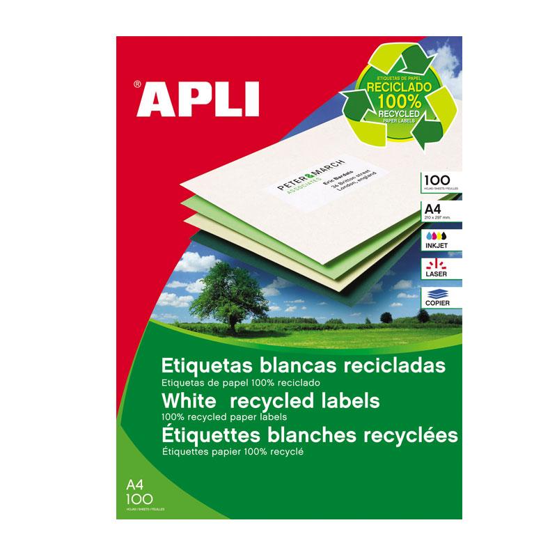 Uzlīmes APLI ILC ar izmēru 210x297mm, 100 loksnes/1 uzlīme loksnē