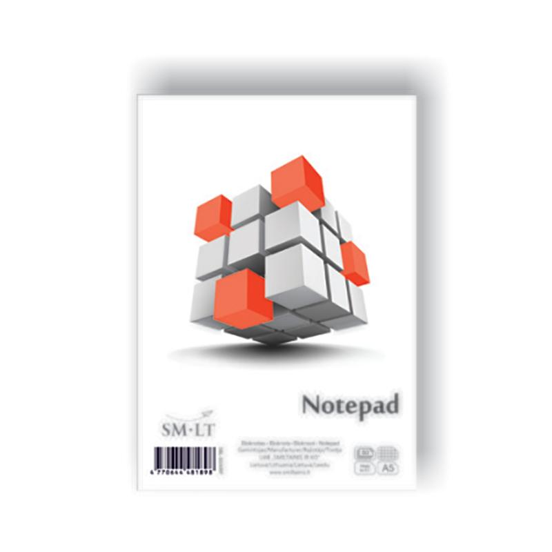 Bloks SMLT rūtiņu, A5 formāts, 50 lapas