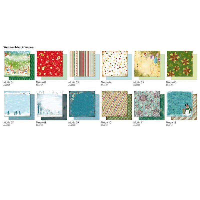 Dizaina papīrs FOLIA, 5 loksnes/iepakojuma,190g/m2