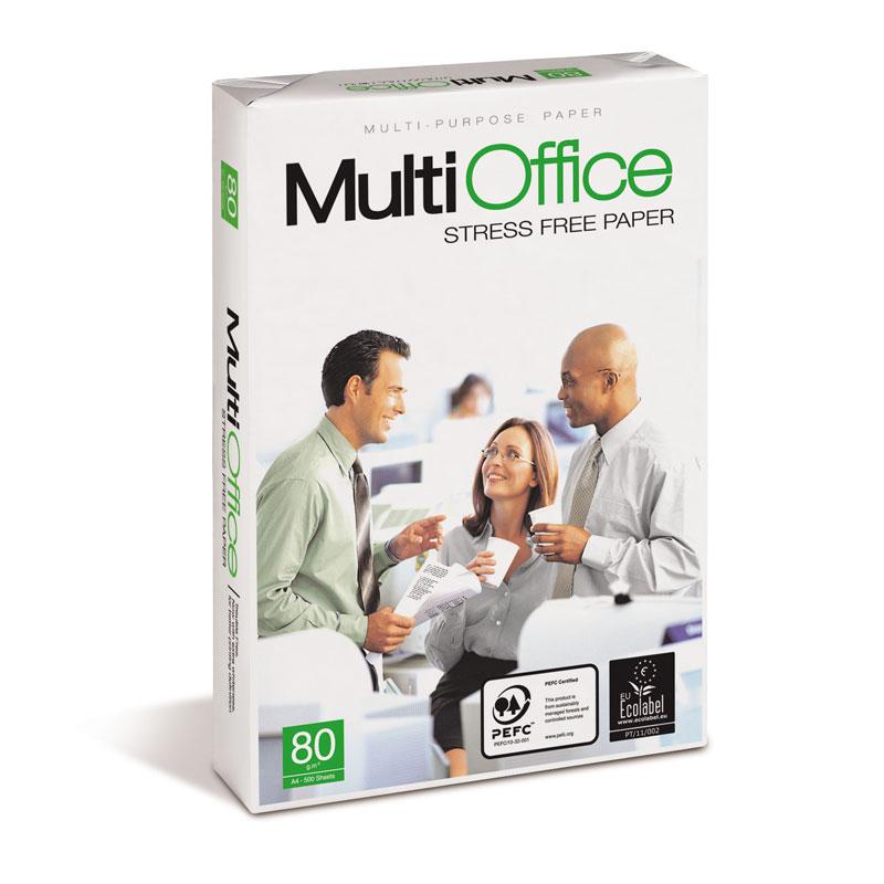 Papīrs MULTIOFFICE A4 80g/m2, 500 loksnes/iepakojumā