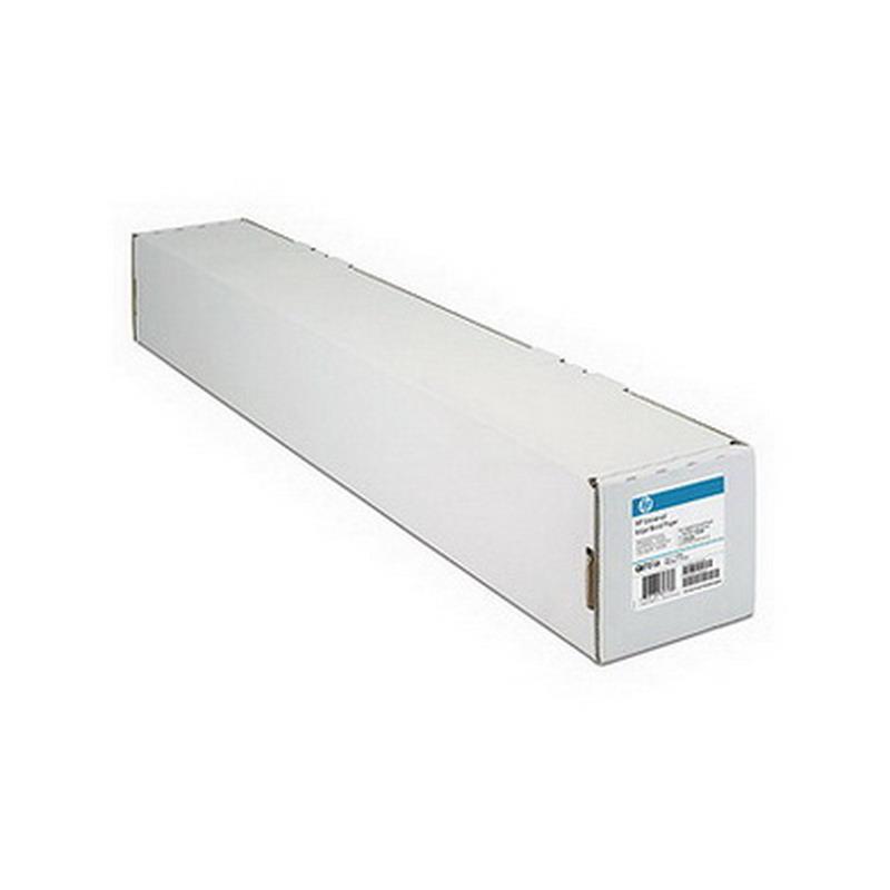 Plotera papīrs HP Universal Q1398A ar izmēru 1067mm x 45,7m 80g/m2