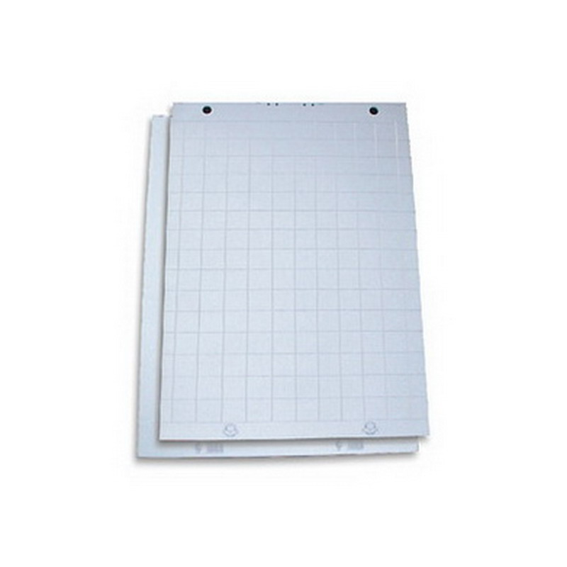 Papīra bloks FORPUS Flipchart ar izmēru 60x85cm, rūtiņu, 50 lapas/blokā