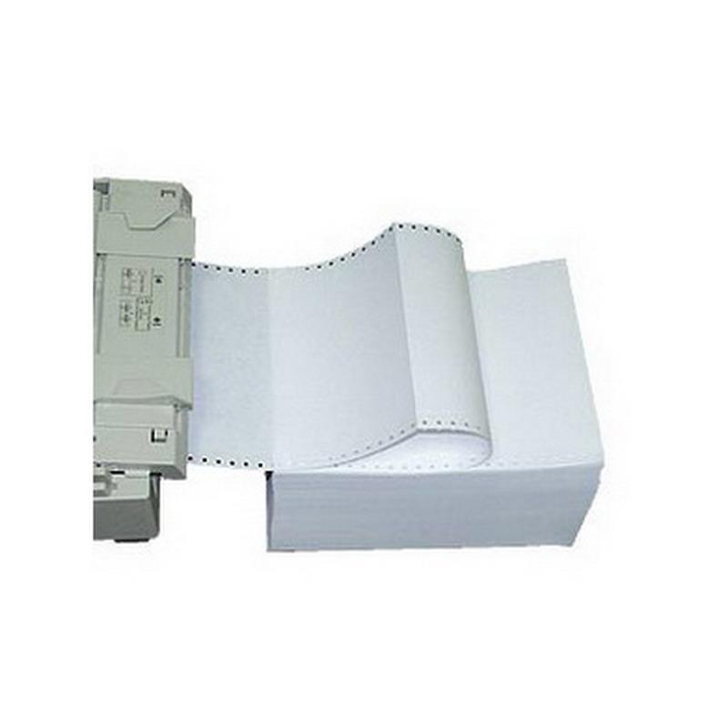 Printera papīrs TECHNOINFORM Lux ar perfor., platums 210mm, 2000 lapas