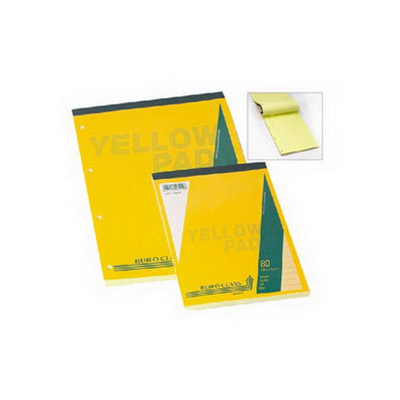 Bloknots Aurora A5 formāts 80 dzeltenas lapas, līniju