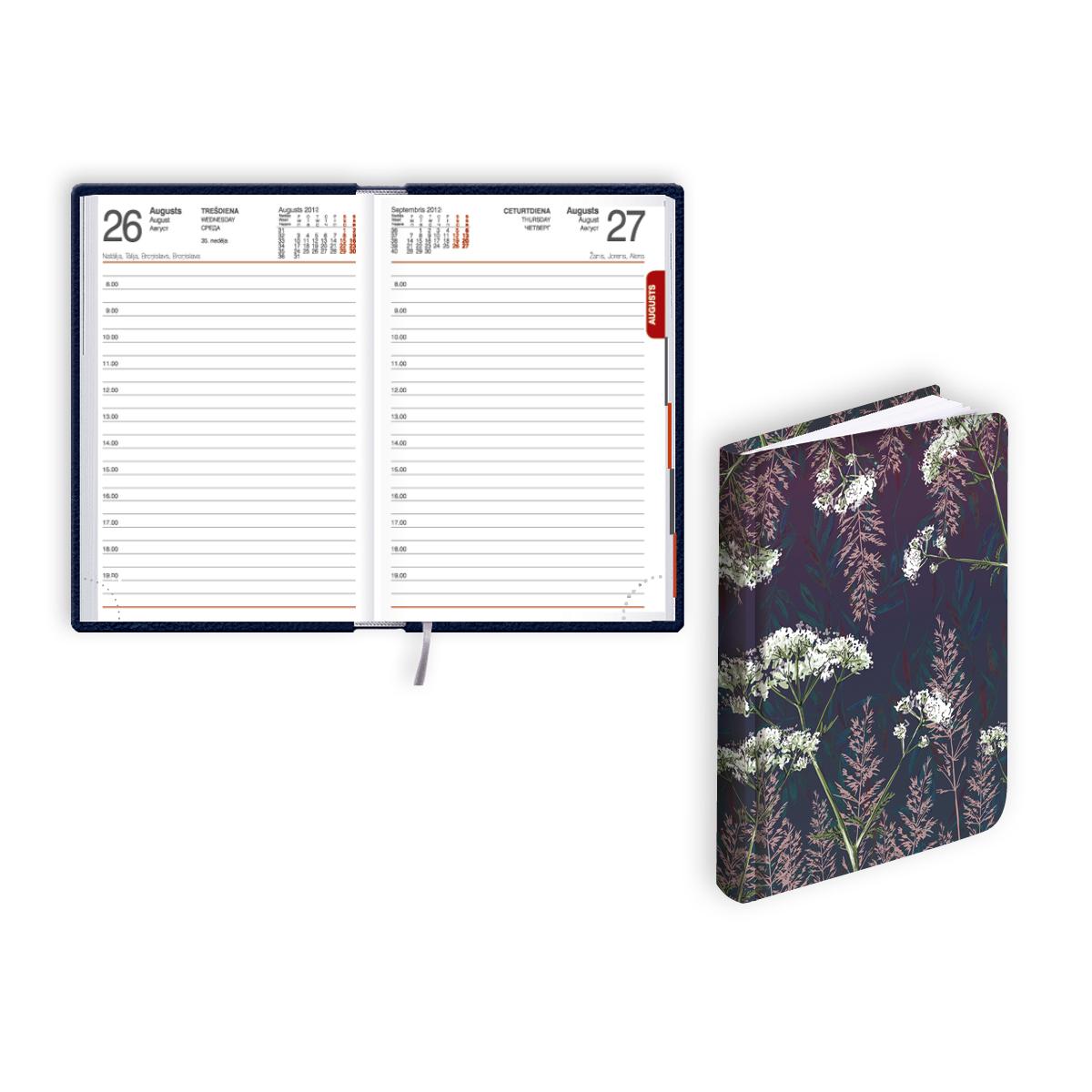 Kabatas kalendārs 2020.gadam EKO MONO FLEX Grey, d..