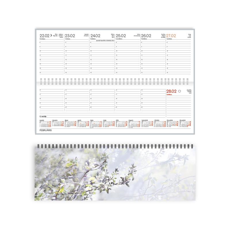 ----Galda kalendārs 2019.gadam EKO Boss Spring, no..