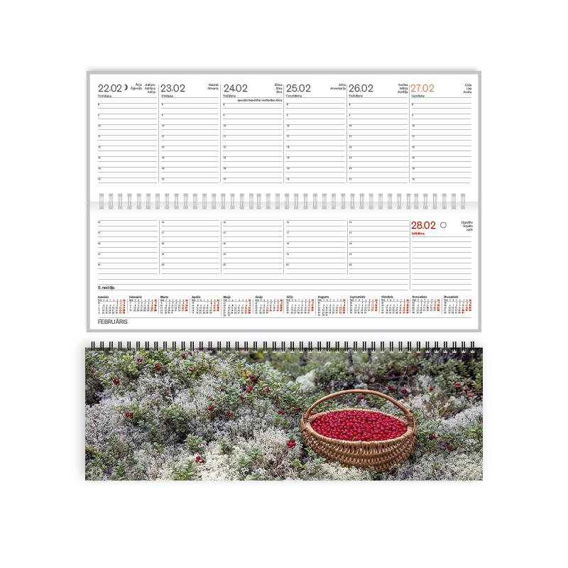 Galda kalendārs 2020.gadam EKO Boss Autumn, no apd..