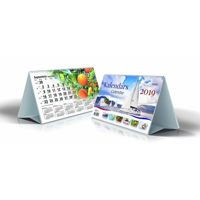 Galda kalendārs 2020.gadam Timer Desk, 210x140 mm
