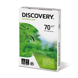 Papīrs DISCOVERY A4, 70g/m2, 500 loksnes/iepakojumā