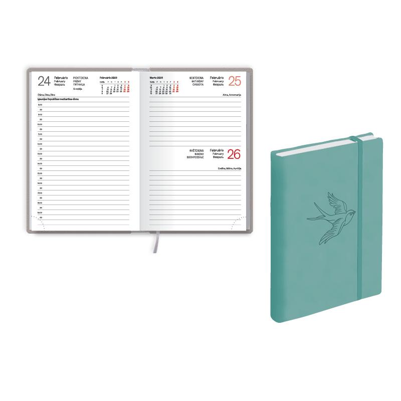 Kabatas kalendārs 2021.gadam EKO MONO SOFT, diena,..