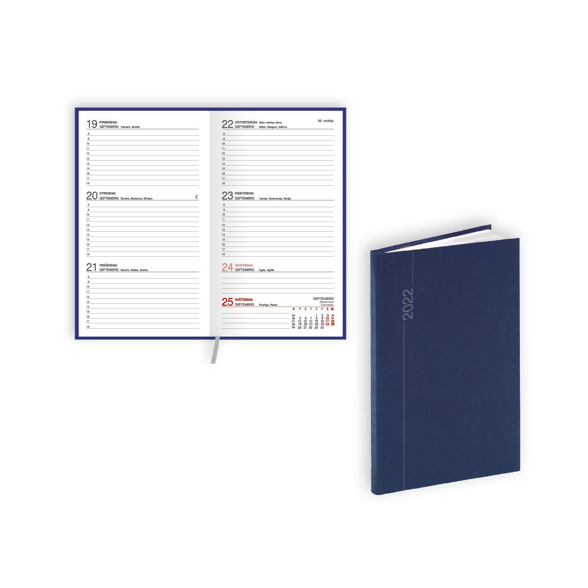 Kabatas kalendārs 2021.gadam EKO Pocket, nedēļa, 9..