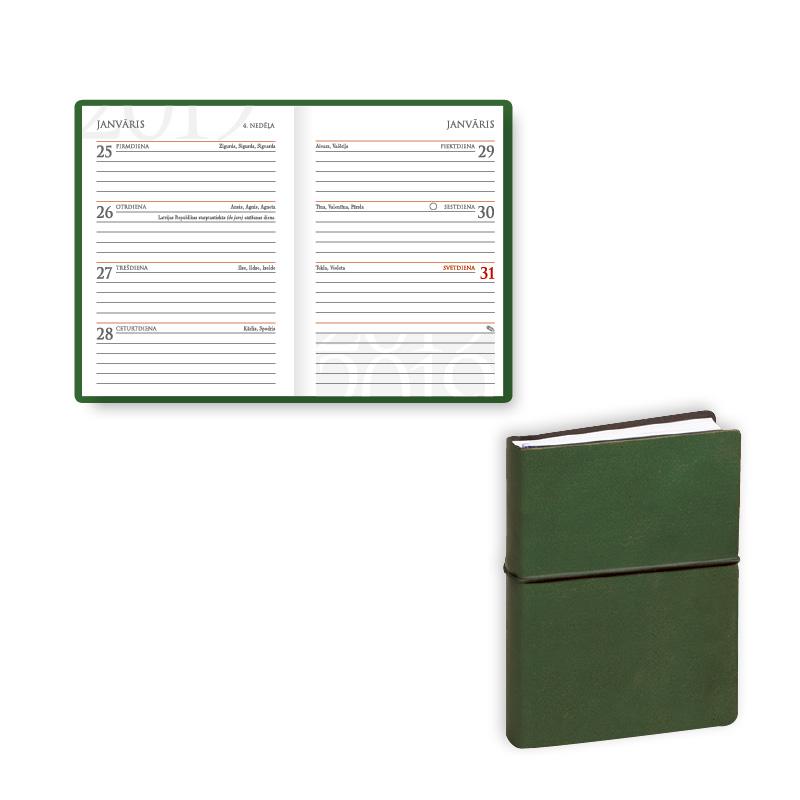 ---Kabatas kalendārs 2019.gadam EKO Mini, elastīga..