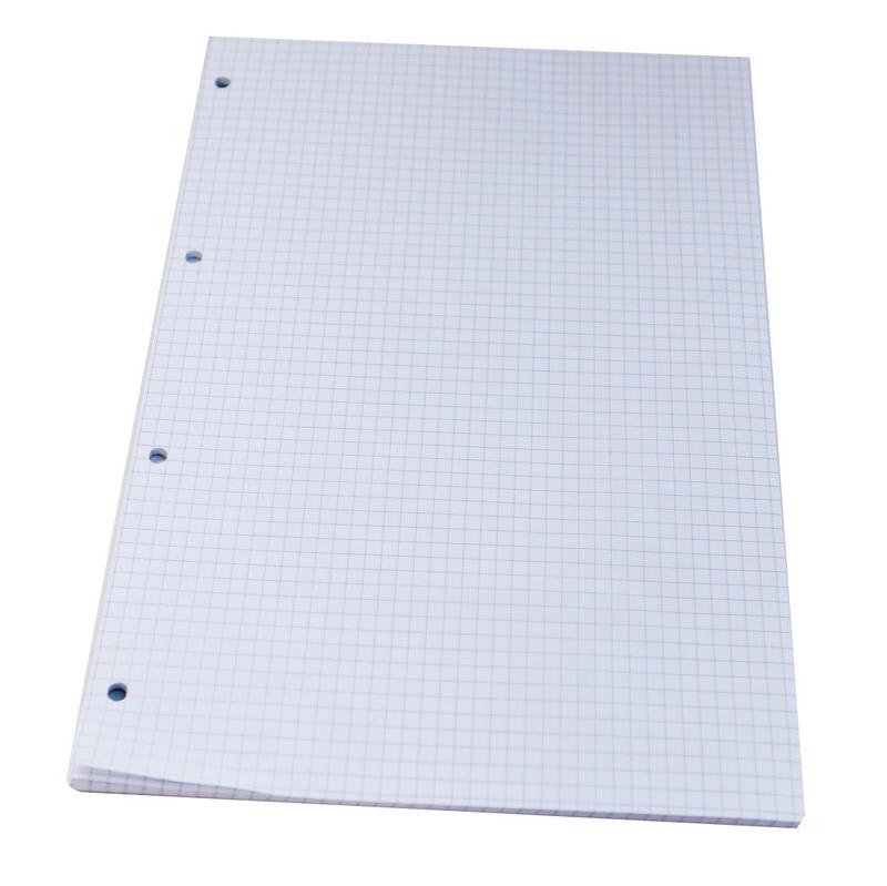 Papīra bloks ABC JUMS, A4 formāts, 50 lapas, rūtiņu, bez vāka