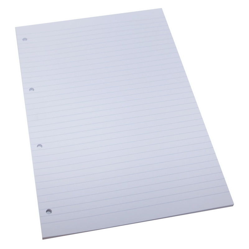 Papīra bloks ABC JUMS, A4 formāts, 50 lapas, līniju, bez vāka