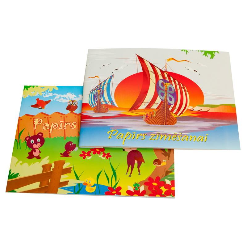 Zīmēšanas albums ABC JUMS A5 formāts, 25 lapas