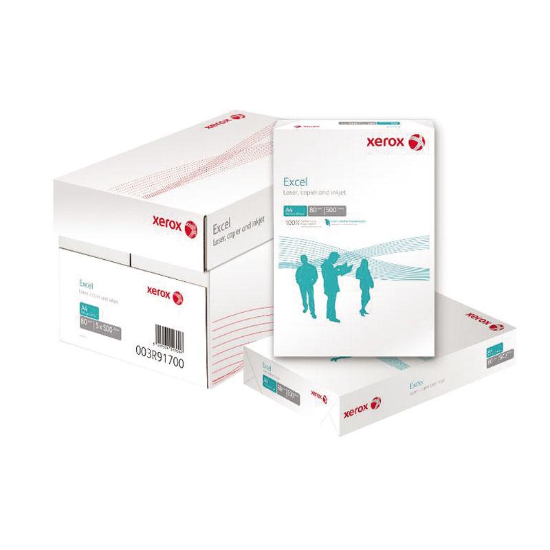 Papīrs XEROX EXCEL+ A4 80g/m2, 500 loksnes/iepakojumā