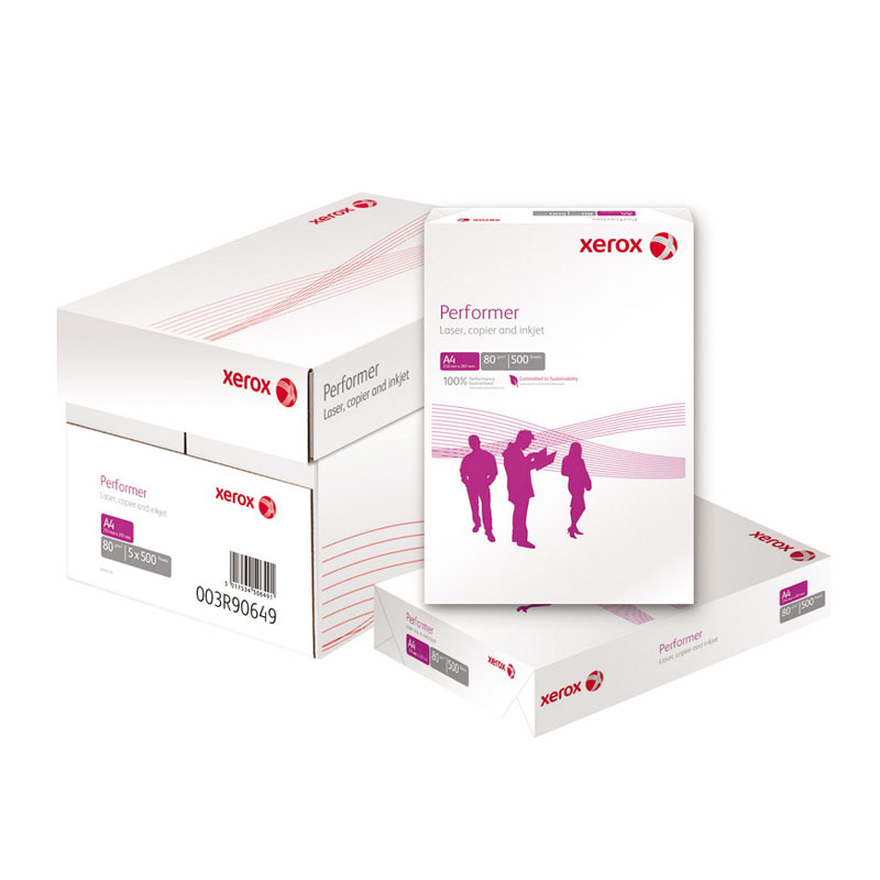 Papīrs XEROX PERFORMER A4 80g/m2, 500 loksnes/iepakojumā