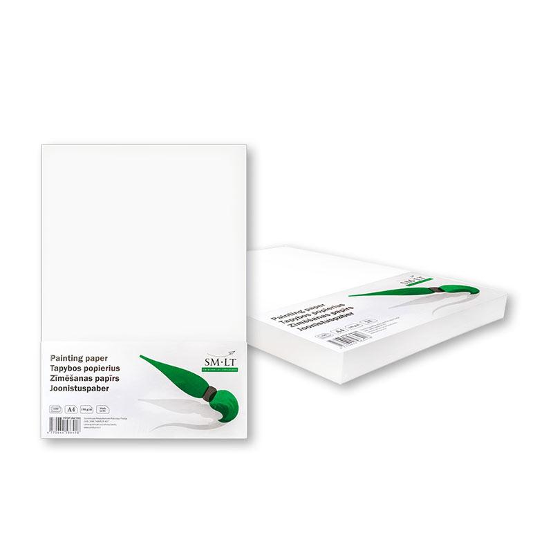 Papīrs rasēšanai SMLT A4 formāts, 190 g/m2, 100 loksnes