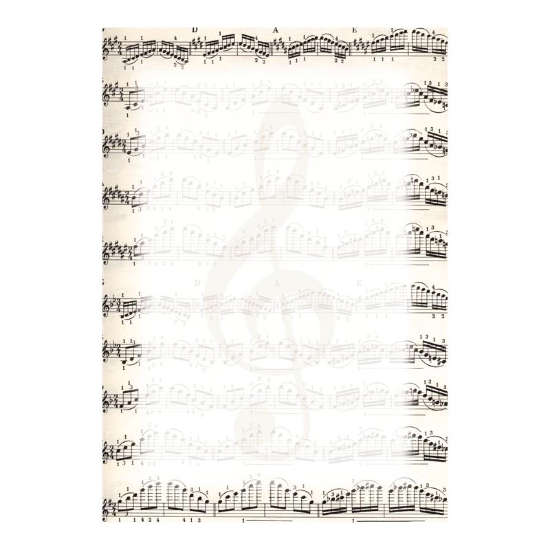 Dizaina papīrs DYPLOMY NOTES A4, 25 loksnes iepakojumā, 170 g/m2