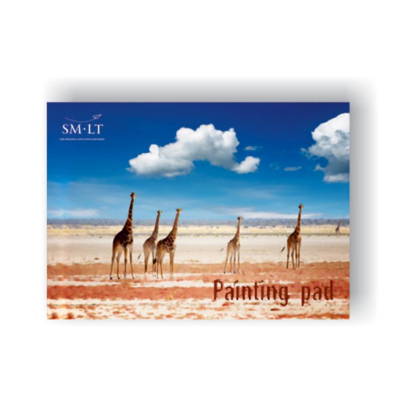Zīmēšanas albums SMLT, A4, 190g/m2, 20 loksnes