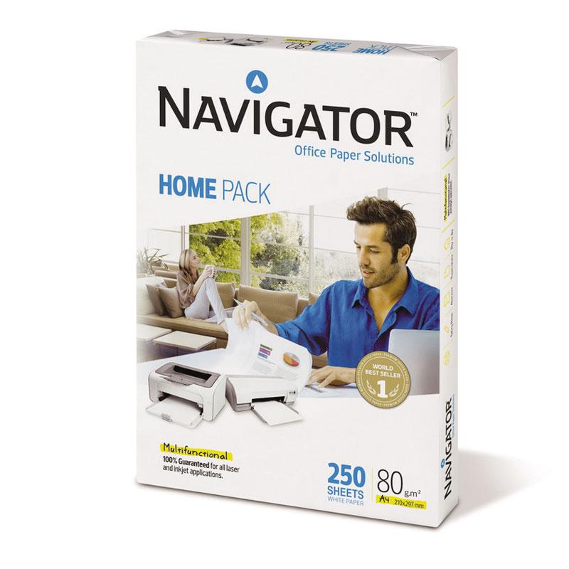Papīrs NAVIGATOR UNIVERSAL HOME PACK A4 80g/m2, 250 loksnes/iepakojumā