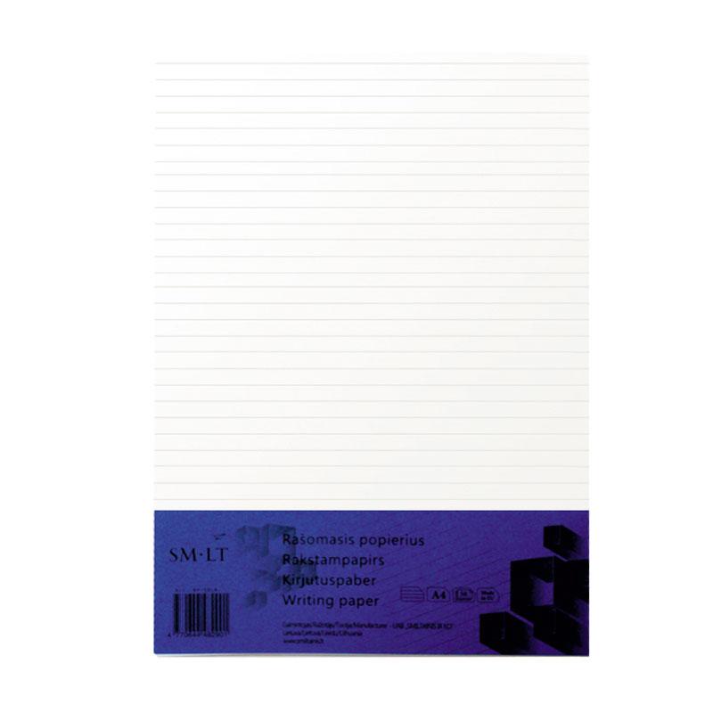 Pierakstu bloknots SMILTAINIS A4 formāts, līniju, 50 lapas