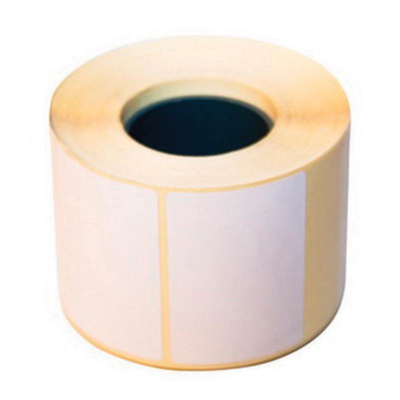Uzlīmes, izmērs 40x25 mm, 1000uzl./ruļļī, pusgalncēts papīrs