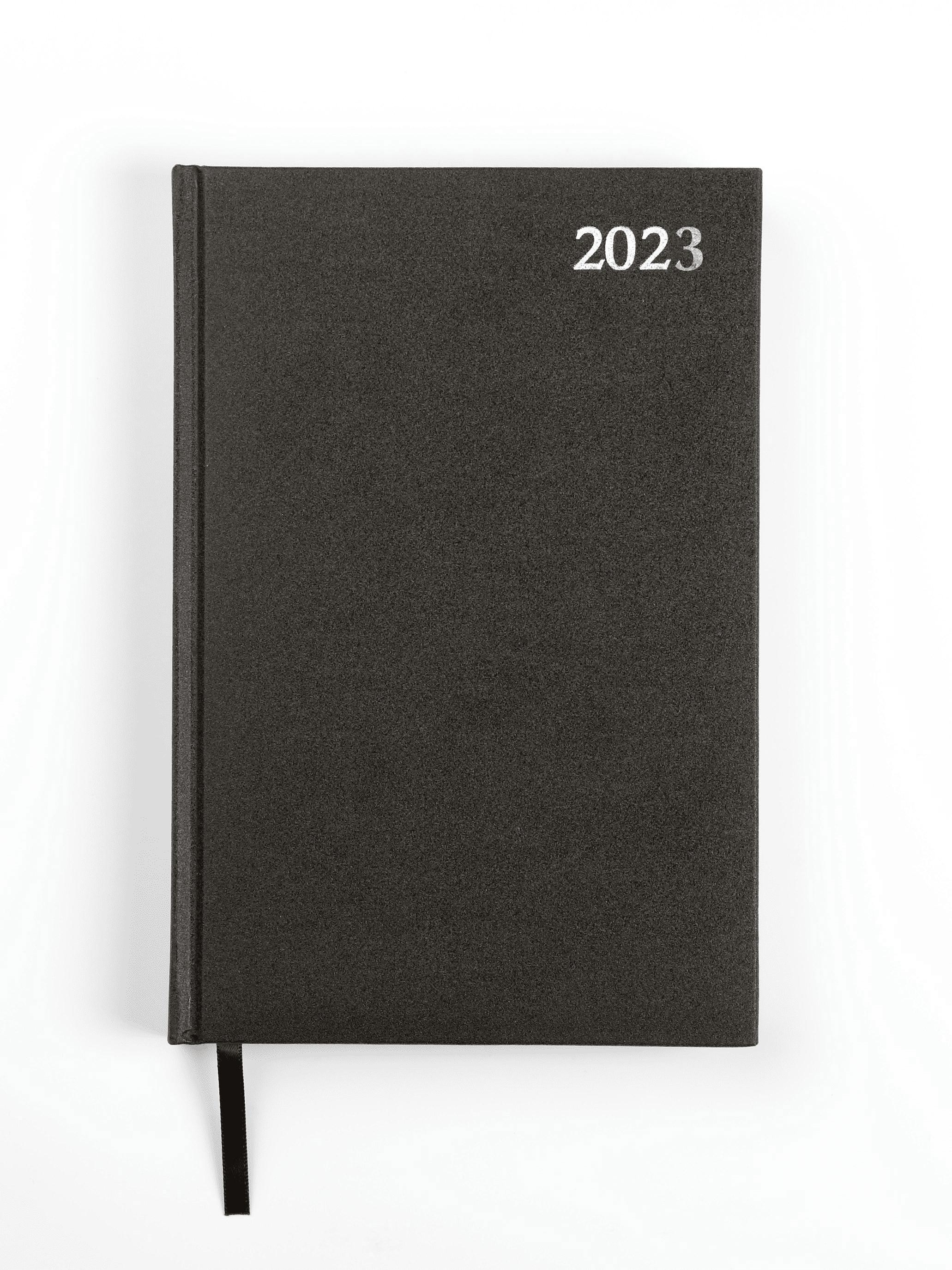 Dienasgrāmata STANDARD 2020, PVC, A5, melna krāsa,..