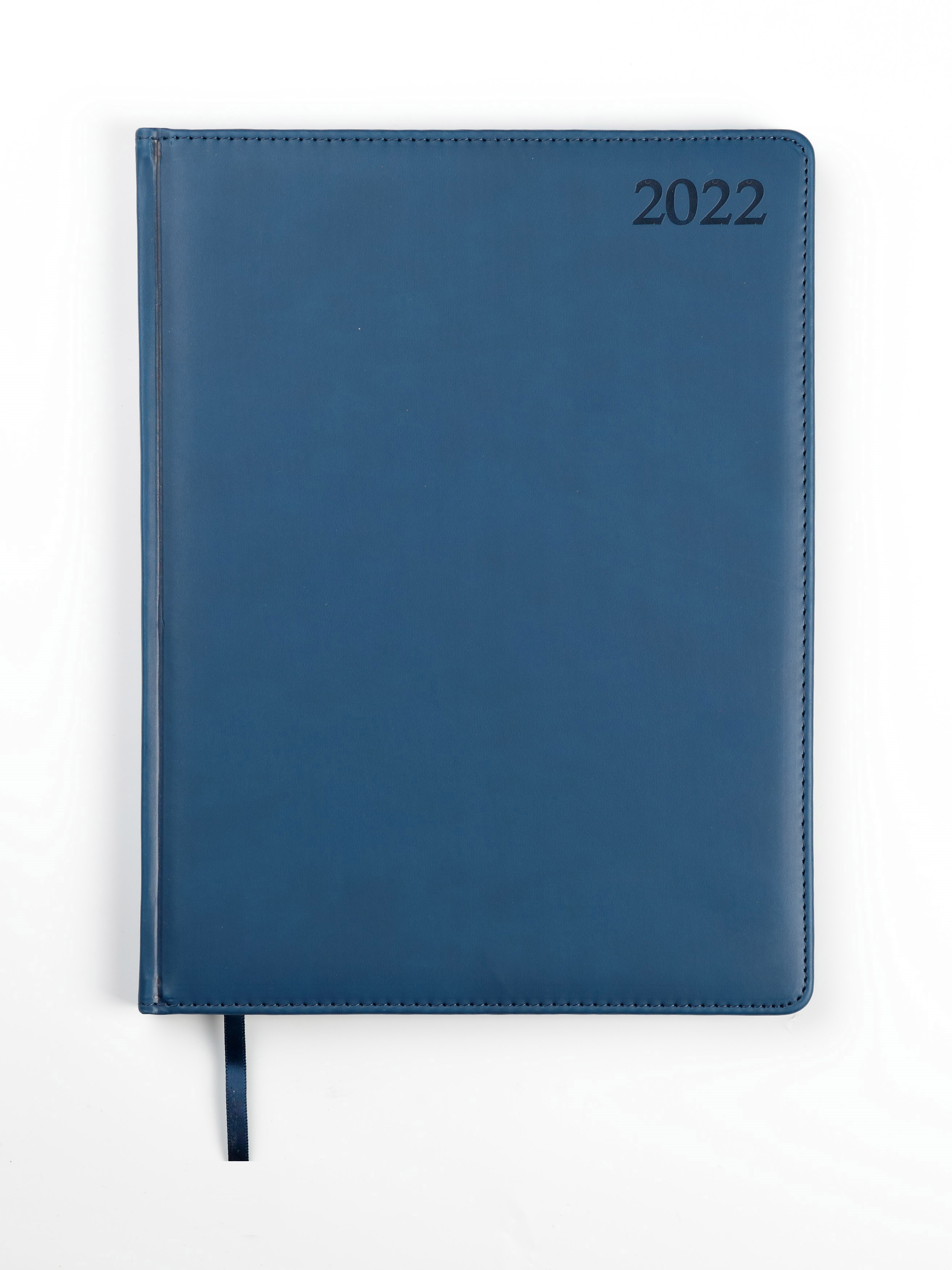 Dienasgrāmata MANAGER EXTRA 2020, PU Soft, A4, zil..