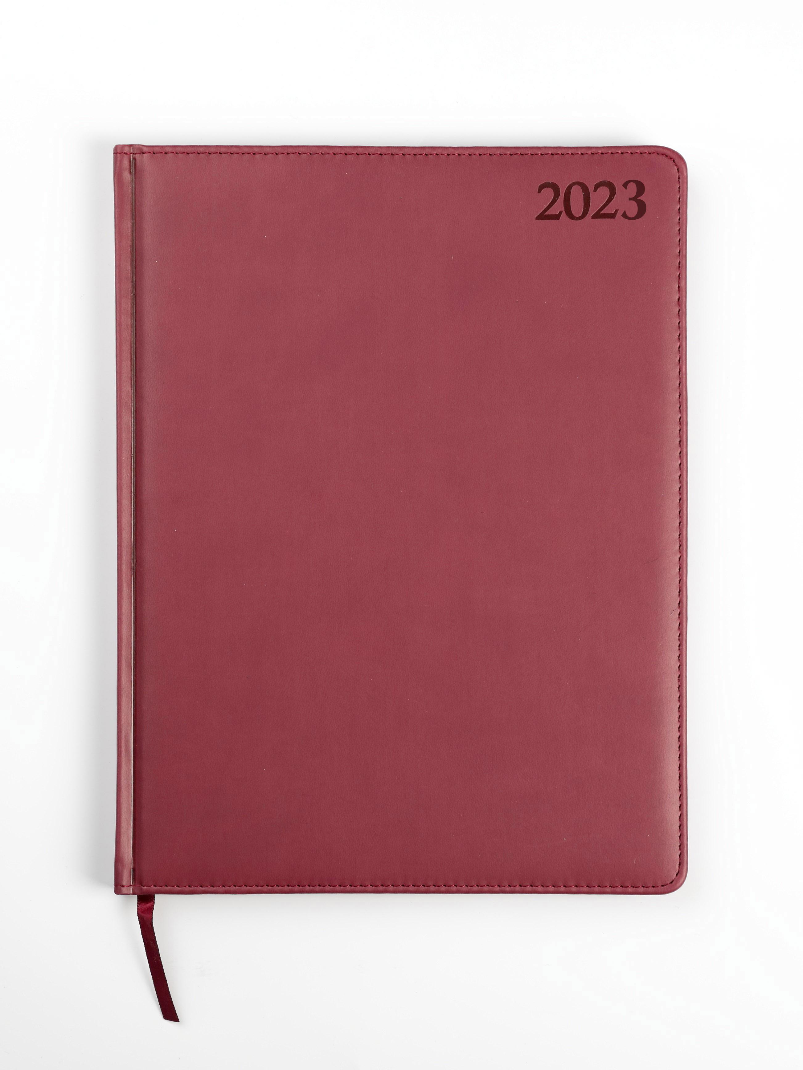 Dienasgrāmata MANAGER EXTRA 2019, PU Soft, A4, bor..
