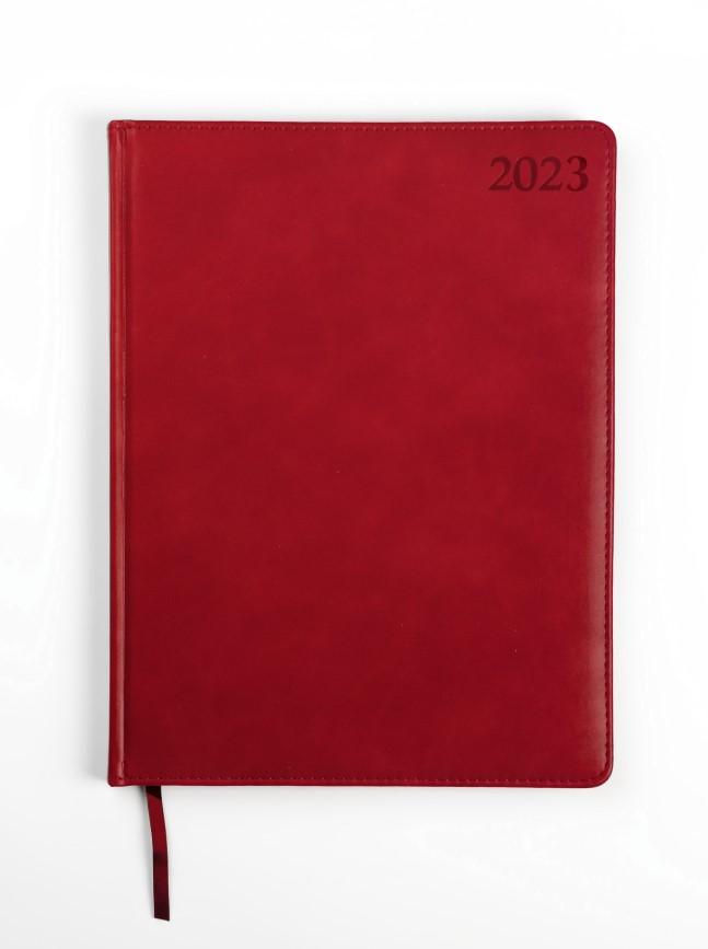 Dienasgrāmata MANAGER EXTRA 2019, PU Soft, A4, sar..