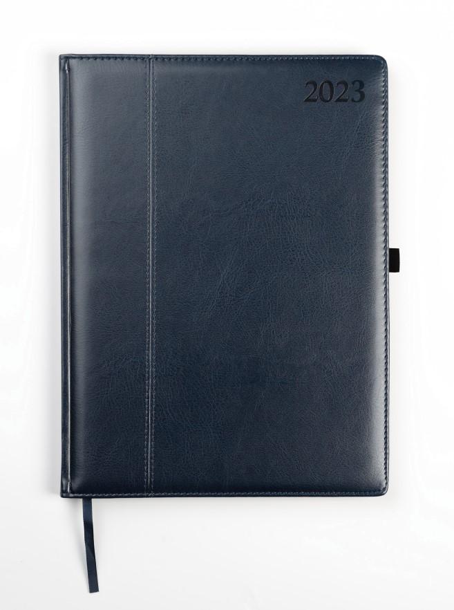 Dienasgrāmata MANAGER AMBASSADOR 2020, PU, A4, zil..