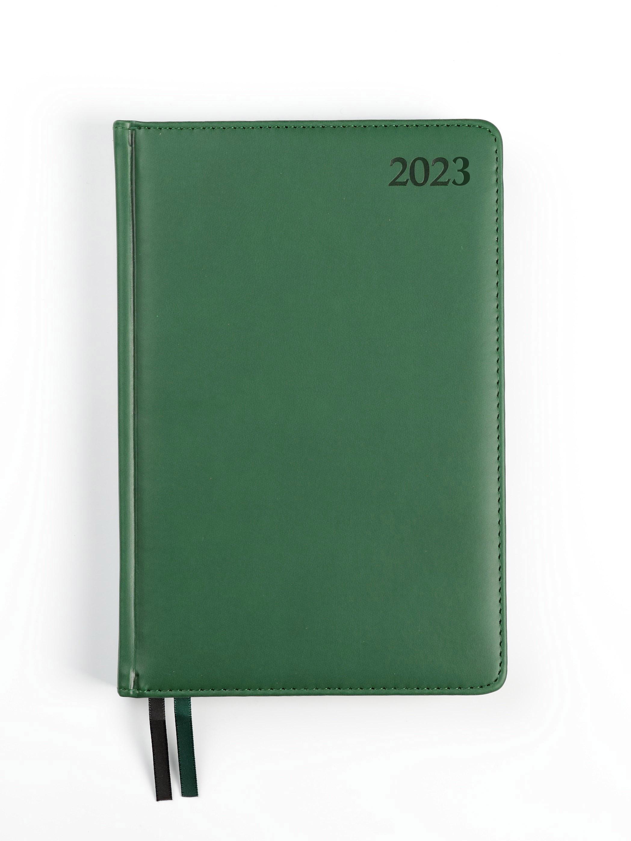 Dienasgrāmata MANAGER EXTRA 2020, PU Soft, A5, zaļ..