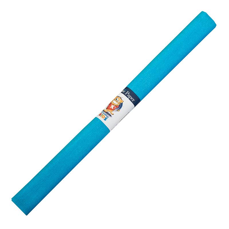 Kreppapīrs ICO ar izmeru 0.5x2m, gaiši zila krāsa