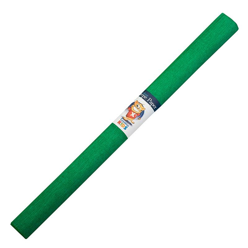 Kreppapīrs ICO ar izmeru 0.5x2m,  tumši zaļš
