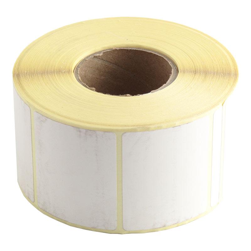 Termo-uzlīmes, 49 x 40 mm, baltas
