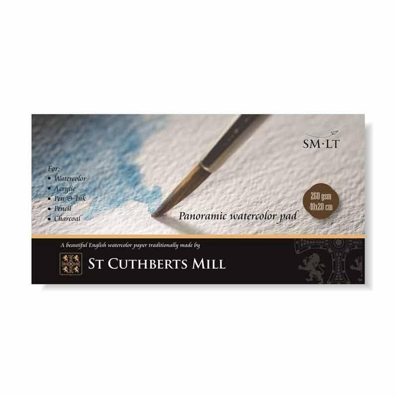 Zīmēšanas albums SMLT St Cuthberts Mill 20 x 40 cm, 260 g/m2, 20 lapas