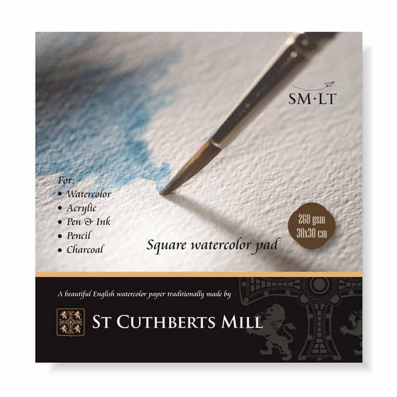 Zīmēšanas albums SMLT St Cuthberts Mill 30 x 30 cm, 260 g/m2, 20 lapas