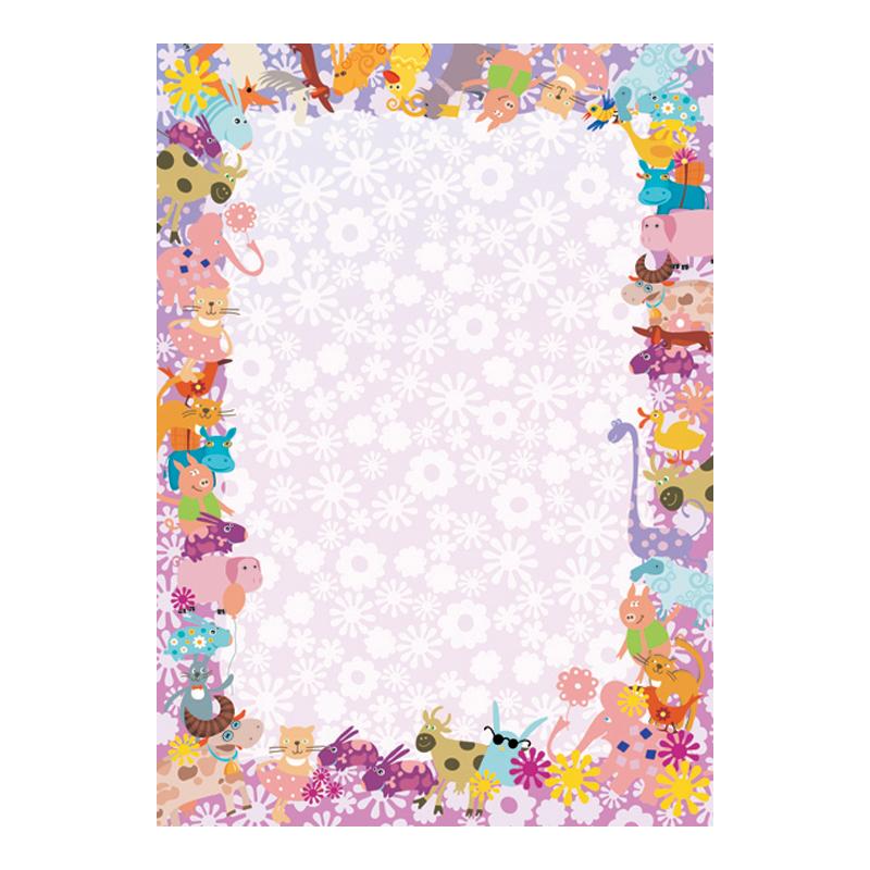 Dizaina papīrs DYPLOMY PETS A4, 25 loksnes iepakojumā, 170 g/m2