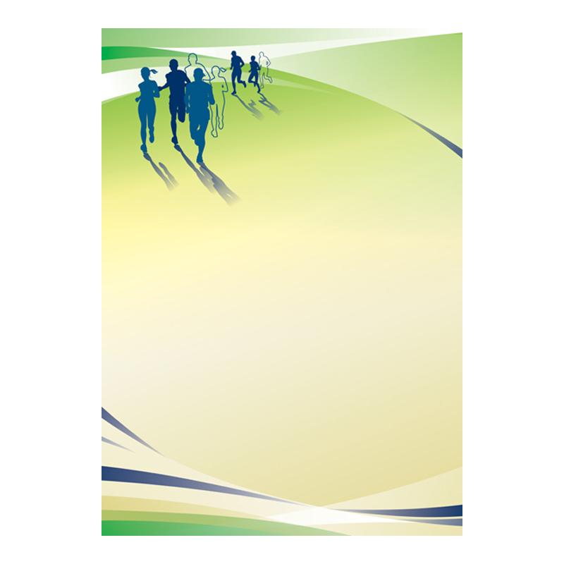 Dizaina papīrs DYPLOMY RUNNING A4, 25 loksnes iepakojumā , 170 g/m2