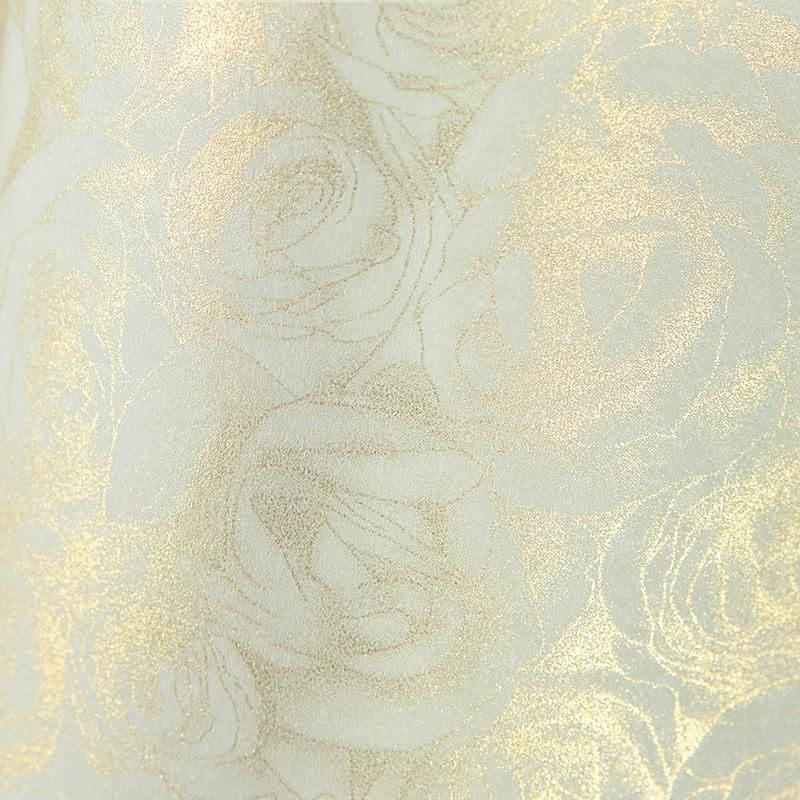 Tekstūras dizaina papīrs ROSES, rožu motīvs, krēma krāsā, A4, 50 loksnes, 100 g/m²